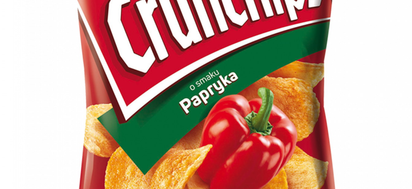 Crunchips Papryka i Ser