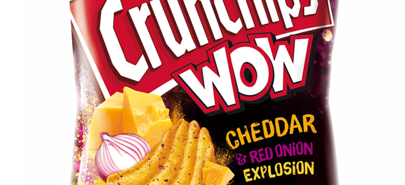 Crunchips WOW Cheddar Red Onion