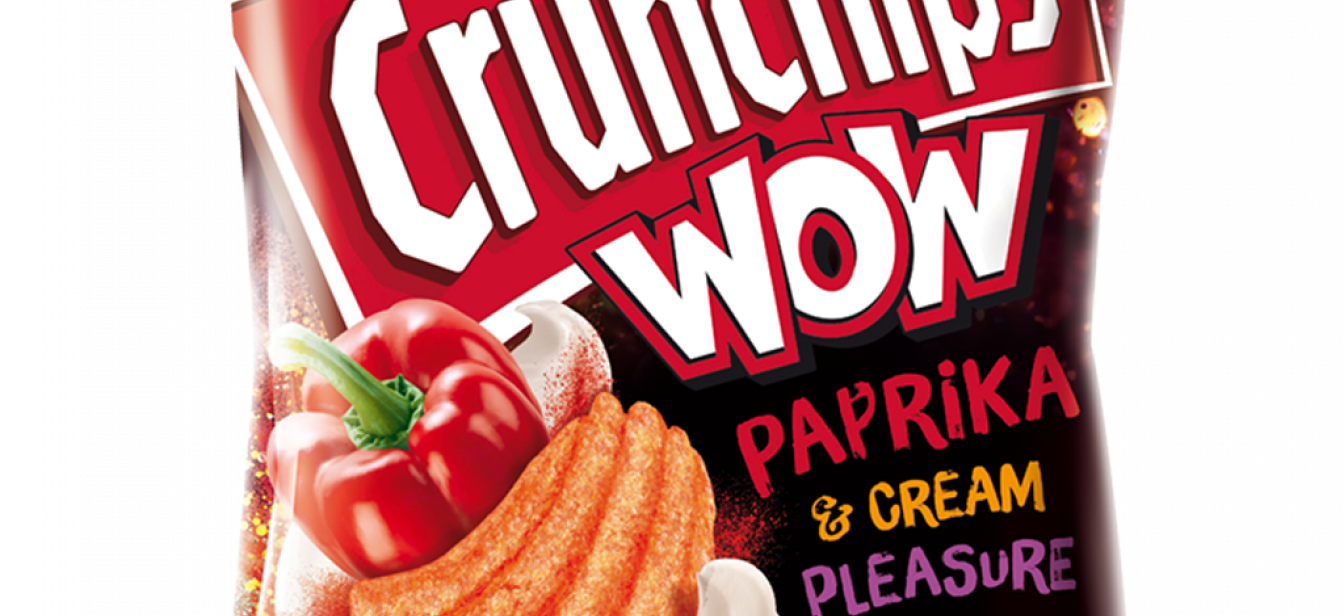 Crunchips WOW Paprika Cream