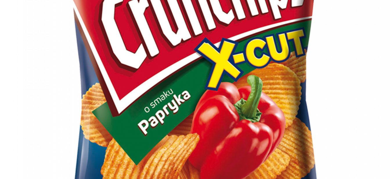 Crunchips X-Cut Papryka
