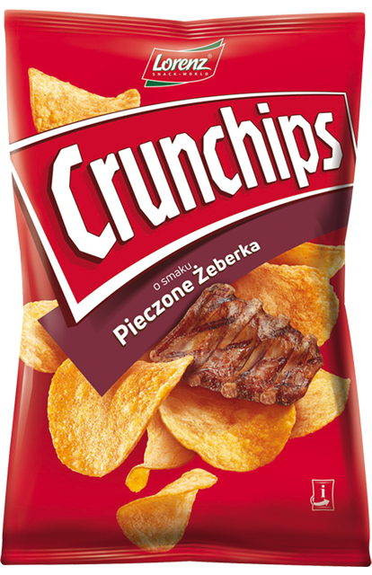 Crunchips Pieczone Żeberka
