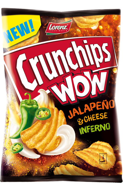 Crunchips WOW Jalapeno Cheese
